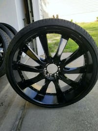 28 inch black out rims and tires *SERIOUS ONLY* Columbia, 29210