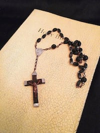 "Antique French Wood Rosary 15"" long !!! Lake Elsinore, 92530"