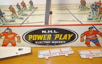 Vintage EAGLE TOY'S #540 POWER PLAY NHL ELECTRIC HOCKEY GAME Revere
