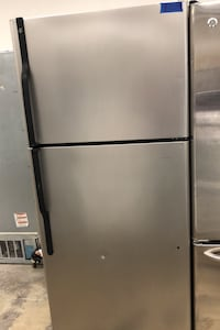 GE stainless steel Top&bottom refrigerator  Bowie, 20715