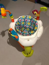 baby's white and green activity saucer Markham, L6B