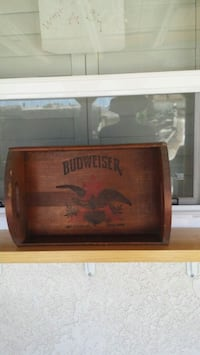 Antique Budweiser Delivery Case
