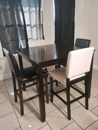 Espresso 5 PC counter height dining set with 4 sto New Orleans, 70131