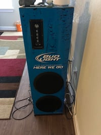 Budlight  tower speaker Knoxville