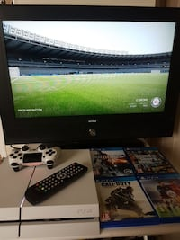 Ps4 with 26'' lcd