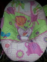 baby's pink and green bouncer Frankfort, 46041
