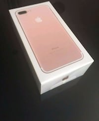 New rose gold IPhone 7 plus 32 the (sealed) Silver Spring