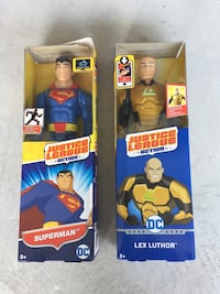 Justice League characters (Unopened) Lorton, 22079