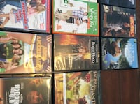 assorted movie case lot Saint-Pie, J0H