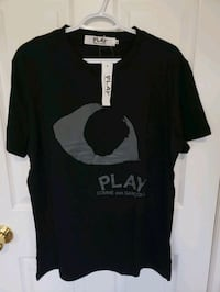 Rep CDG Play Tee size XL, BNWT Vancouver, V5W 2E1