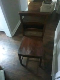 Old vintage antique church chairs 2059 mi