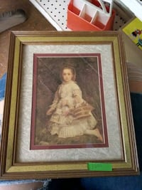 painting of a little girl  Middletown, 17057