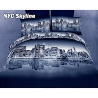 Dolce Mela Duvet Cover New your Skyline Davenport