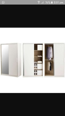 Morvik IKEA wardrobe with mirror