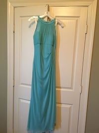 Blue bridesmaid dress size 10 worn once Youngsville, 70592