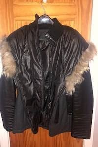 Rudsak black woman's xl winter coat  Montréal, H8P 2A2