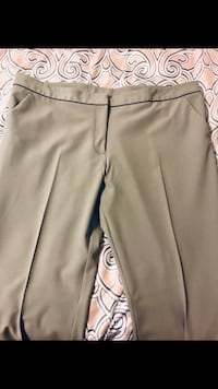 Plus Size Light Gray Dress Pants, Sz. 18 Aldie, 20105