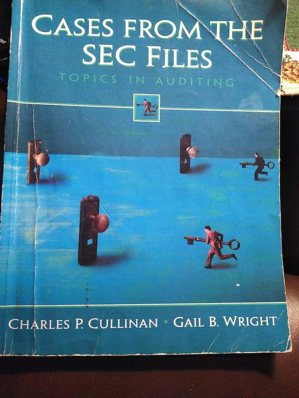 CASES FROM THE SEC FILES. TOPICS IN AUDITING. 6c0b4df3-b5a6-4003-8658-7044936365d4