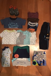 Size 18 baby clothes with size 6 shoes Springfield, 22152