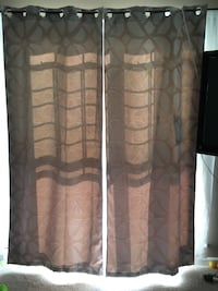 Tan grommet window curtains Lower Paxton, 17112