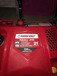 Snow Blower used 1 season(5 times) Bought new for 560.00 electric start moving and hate to let go. Back saver. Does the driveway in 10 min. Less than half price Stafford, 22554