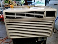 white LG window type air conditioner Windsor, N9A 2L6