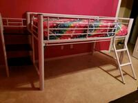 Loft bed white metal Fort Mill, 29715