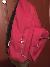 women's red leather sling bag Albuquerque