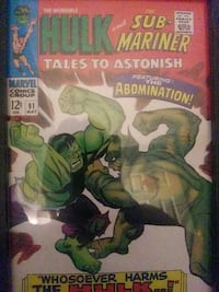 Two vintage incredible hulk comics book covers Temple Hills, 20748