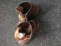 Red Wing Leather Moc Toe Boots Size 8.5 Whitchurch-Stouffville, L4A 4Y7