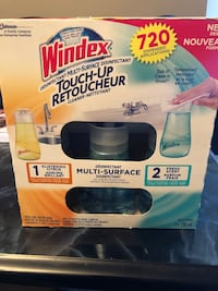 "Windex Disinfectant ""Touch Up"" cleaner.  Brand new.  Includes 3 multi surface cleaners.  Dab it, clean it, DONE! Brampton, L6T 4A2"