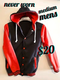 red and black button-up jacket Calgary, T3B 0T3