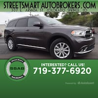 2015 Dodge Durango SXT Colorado Springs, 80905