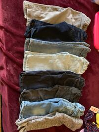 8 pc Bundle Girls Denim Jeans 9-12 Little Ferry, 07643