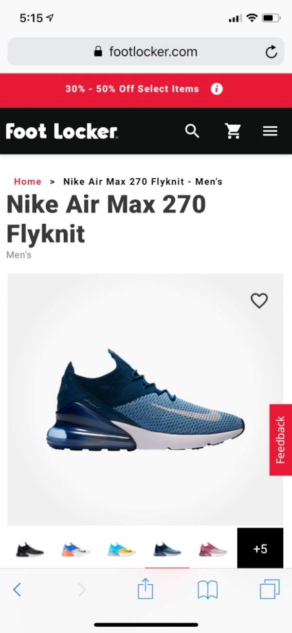 best sneakers c8c66 1119e Nike Air Max 270 Flyknit
