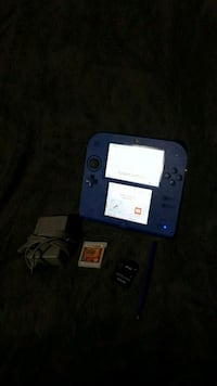 blue Nintendo DS with charger Edmonton, T5H 0B4