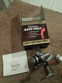 Quantum micro ms00xl spinning reel Chantilly, 20151