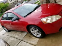 RED Pontiac G6 sedan Lincoln, 95648