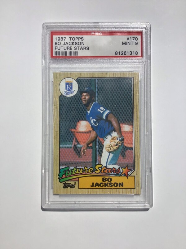 1987 Bo Jackson Baseball Rookie Card 50