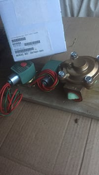 Electric mixer valve new pick up only