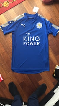 blå PUMA King Power jersey