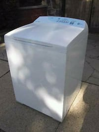white top-load clothes washer and dryer. Matching  Springfield, 65803