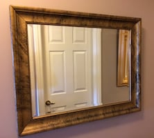 Custom Made Beveled Mirror