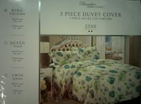 Bamboo home luxury 3 piece duvet cover pack 538 km