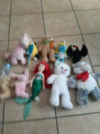 assorted TY Beanie Baby plush toys San Antonio, 78213