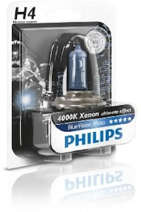 Lamparas Philips H4 Crystal Vision Ultra Barcelona