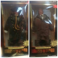 two black and brown dressed doll in box Norfolk, 23502