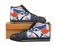 Toronto Maple Leaf high-top sneakers with box Peterborough, K9H