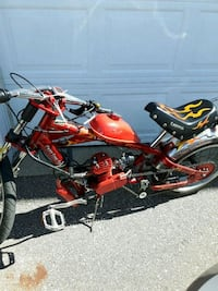 red and black cruiser motorcycle Vaughan, L4J 6P6