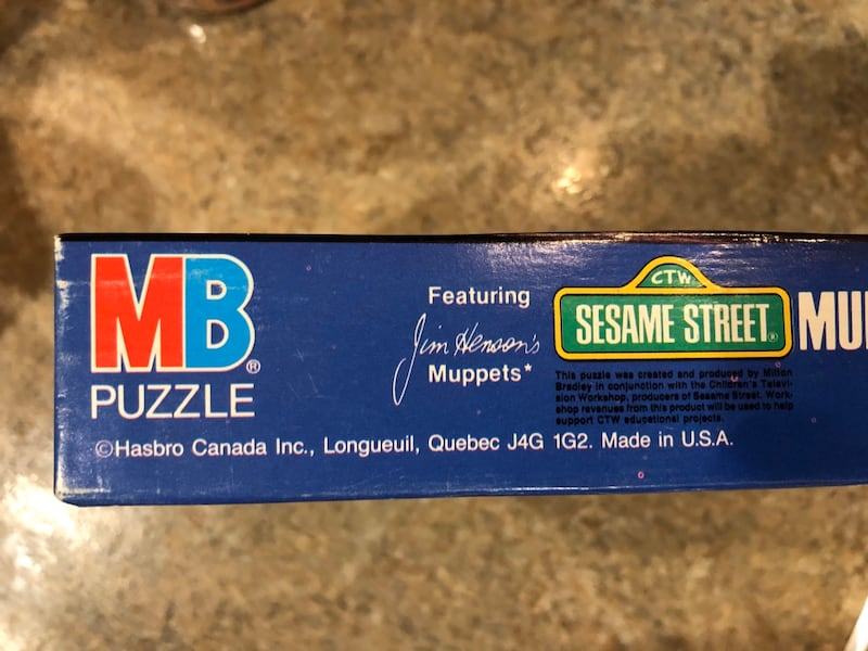 Sealed Sesame Street puzzle from the 80's! 3